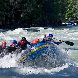 Teamevent und Betriebsausflug  Rafting Wochenende