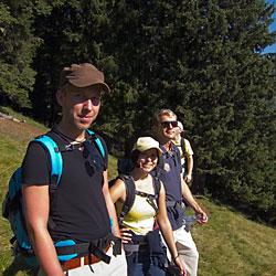 Teamevent und Teambuilding  Wandern Hütte Tirol