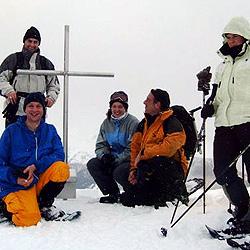 Teamevent und Teambuilding Schneeschuh Tour Tirol