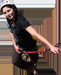 Teamevent Abseilen und Bogenschiessen im Altmühltal