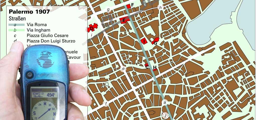 Geocaching Criminal Cache - Krimi-Teamevent in der Stadt