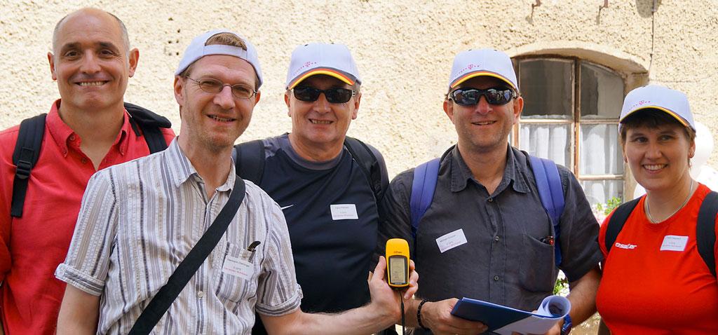 Teamevent Geocaching Alpin in der Ötztal Region in Tirol