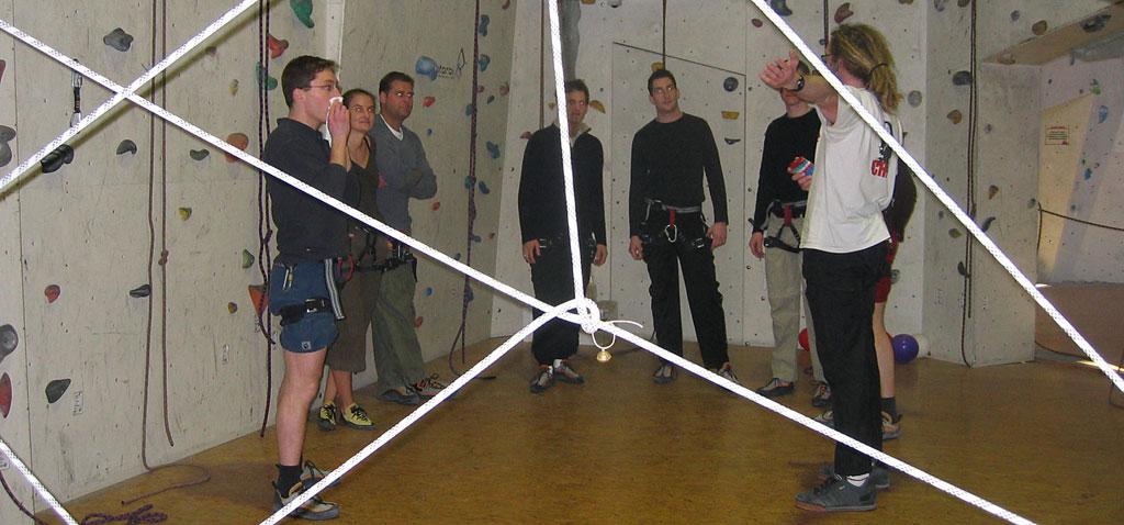Teamevent Indoor Klettern in der Kletterhalle