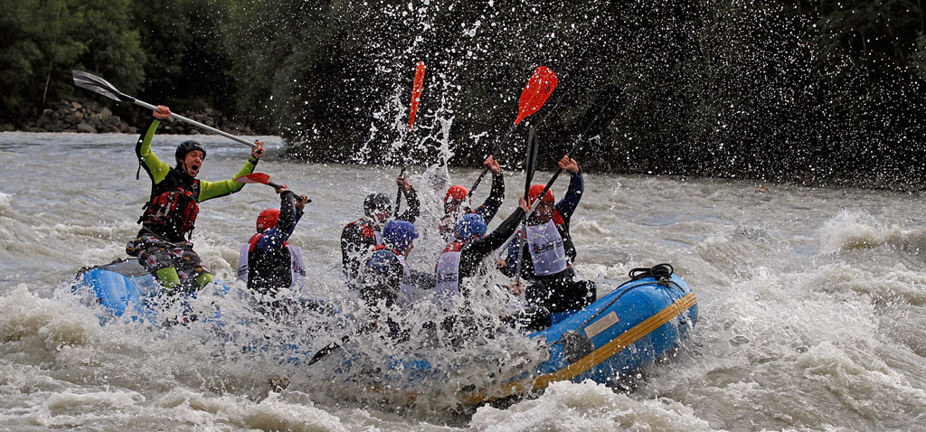 Rafting Teamevent und Teambuilding